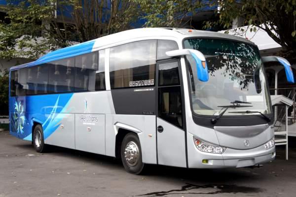 foto unit bus bandara halimtrans.com armada aerotrans