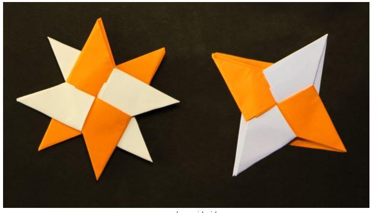Cara Membuat Kreasi Kerajinan Kertas Origami Mudah dan cantik