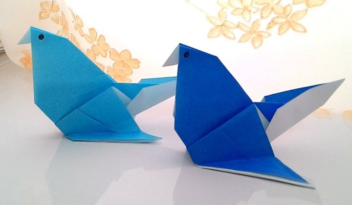 Cara Membuat Kreasi Kerajinan Kertas Origami Mudah dan lucu