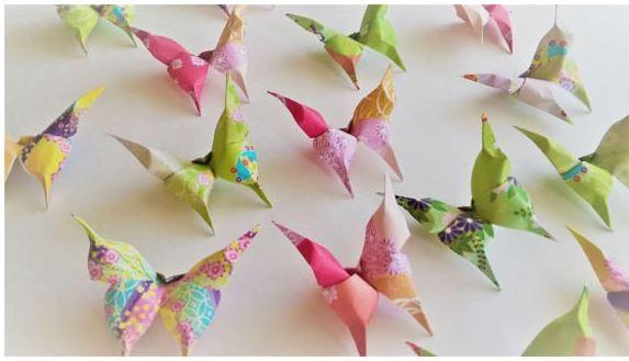 Cara Membuat Kreasi Kerajinan Kertas Origami Mudah dan