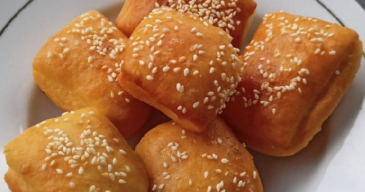 Cara Bikin Roti Bantal Goreng