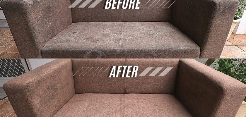 Cara Membersihkan Sofa Berjamur